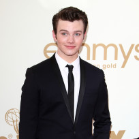 Which Glee actor looked more handsome at the Emmys?