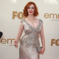 Christina-hendricks-at-the-emmys