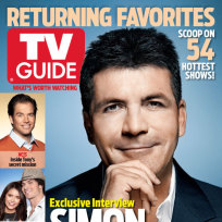 Simon Cowell on TV Guide Magazine