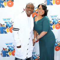 Tracy Morgan and Megan Wallover