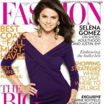 Selena Gomez Fashion Magazone Cover