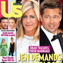Jen Aniston: Blindsided By Brad!