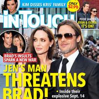 Justin Theroux Threatens Brad Pitt!