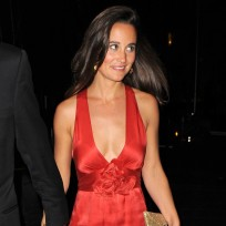 Pippa middleton red gown
