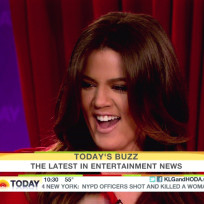 Khloe Kardashian on Today