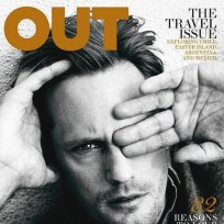 Alexander Skarsgård Out Magazine Cover