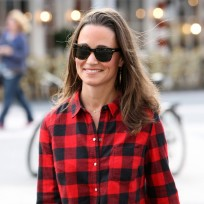 Pippa Middleton, Plaid Shirt