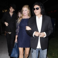 Nick Simmons, Gene Simmons, Shannon Tweed