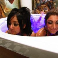 Snooki and Deena Photo