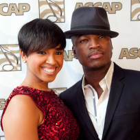 Ne yo and monyetta shaw pic