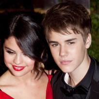 Justin Bieber and Selena Gomez on Oscar Night