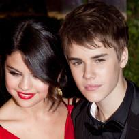 Justin Bieber and Selena Gomez on Oscar Night