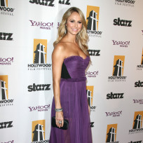 Stacy keibler red carpet pic