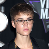 Justin Bieber in Glasses