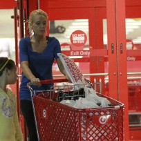 Kate Gosselin at Target