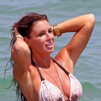 Rachel Uchitel in a Bikini