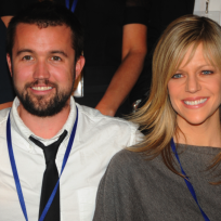 Kaitlin Olson and Rob McElhenney Picture