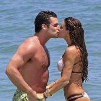Rachel Uchitel and Husband