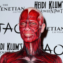 Which Halloween costume looks best on Heidi Klum?
