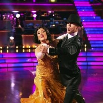 Derek Hough and Ricki Lake Photo