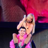 Britney Spears and Joe Jonas