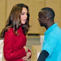 Kate Middleton, Belly