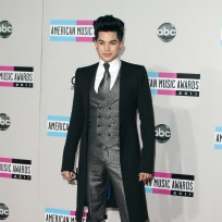 Adam lambert at the amas