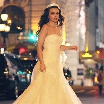 Blair waldorfs wedding dress