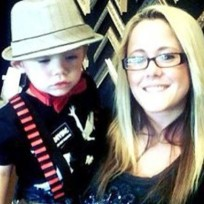 Jenelle evans and son