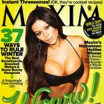 JWoww Maxim Cover