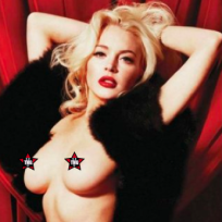 Lindsay Lohan Nude Playboy Photo
