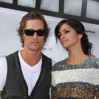 Matthew McConaughey and Camila Alves Photo