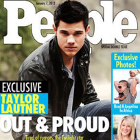 Taylor Lautner Fake Cover