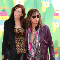 Erin Brady and Steven Tyler