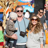 Eric Dane, Rebecca Gayheart, Daughter