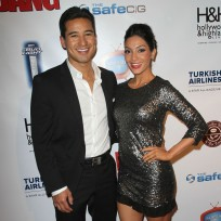 Mario lopez and courtney mazza