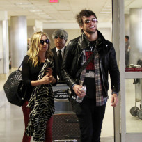 Martin Johnson and Ashley Tisdale