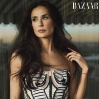 Demi Moore in Harper's Bazaar