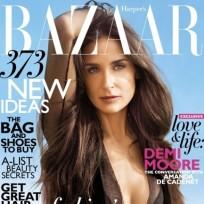 Demi Moore Harper's Bazaar Cover