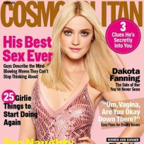 Dakota Fanning Cosmo Cover