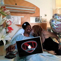 Mariah and Nick in the Hospital