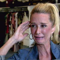 Kim Richards Crying