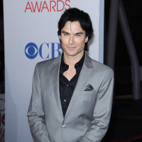 Ian somerhalder at the peoples choice awards