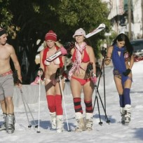 Bikini-ski-trip