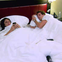Bethenny Frankel in Bed
