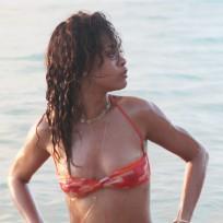 Rihanna Bikini Photograph