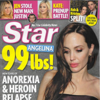 Angelina jolie wasting away