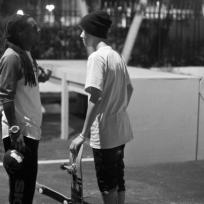 Justin Bieber and Lil Wayne