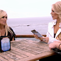 Tamra Barney and Gretchen Rossi