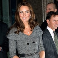 Kate Middleton, Grey Dress